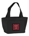 Letter T Football Garnet and Gold Lunch Bag CJ1078-TBK-8808 by Caroline's Treasures