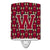 Buy this Letter W Football Garnet and Gold Ceramic Night Light CJ1078-WCNL