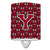 Buy this Letter Y Football Garnet and Gold Ceramic Night Light CJ1078-YCNL