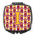 Letter I Football Maroon and Gold Compact Mirror CJ1081-ISCM by Caroline's Treasures
