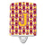 Buy this Letter J Football Maroon and Gold Ceramic Night Light CJ1081-JCNL