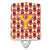 Buy this Letter Y Football Maroon and Gold Ceramic Night Light CJ1081-YCNL