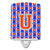 Buy this Letter U Football Green, Blue and Orange Ceramic Night Light CJ1083-UCNL