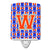 Buy this Letter W Football Green, Blue and Orange Ceramic Night Light CJ1083-WCNL