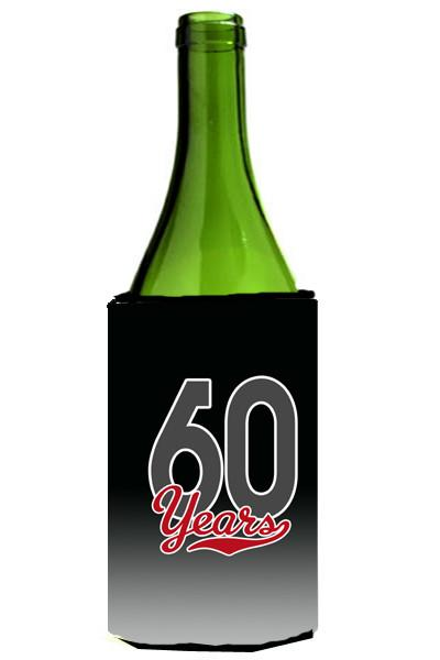 Buy this 60 Years Wine Bottle Beverage Insulator Hugger CJ1088LITERK