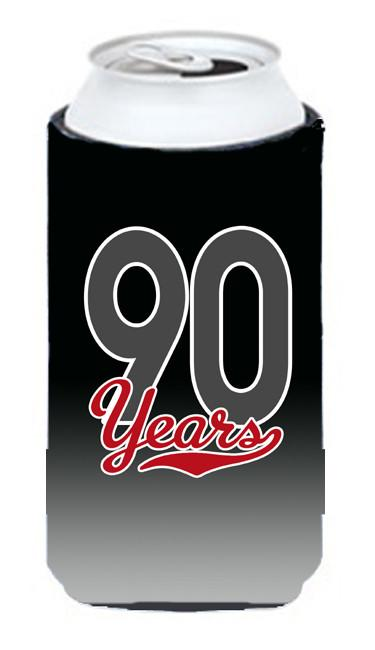 Buy this 90 Years Tall Boy Beverage Insulator Hugger CJ1091TBC