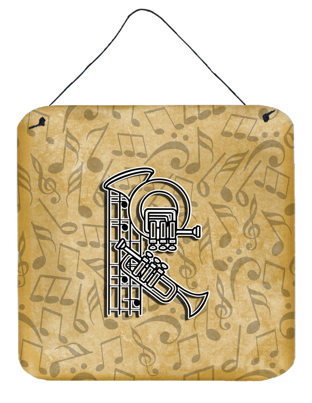 Buy this Letter R Musical Instrument Alphabet Wall or Door Hanging Prints CJ2004-RDS66