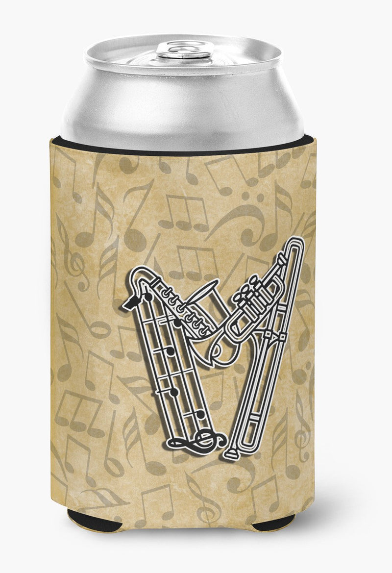 Buy this Letter W Musical Instrument Alphabet Can or Bottle Hugger CJ2004-WCC