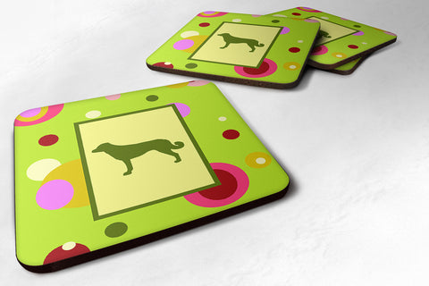 Buy this Set of 4 Anatolian Shepherd Foam Coasters