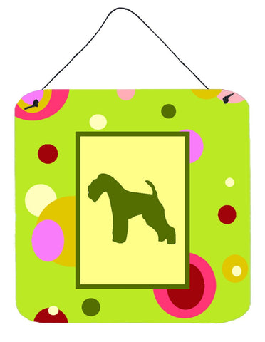 Buy this Lakeland Terrier Aluminium Metal Wall or Door Hanging Prints