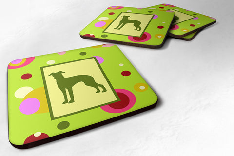 Buy this Set of 4 Italian Greyhound Foam Coasters
