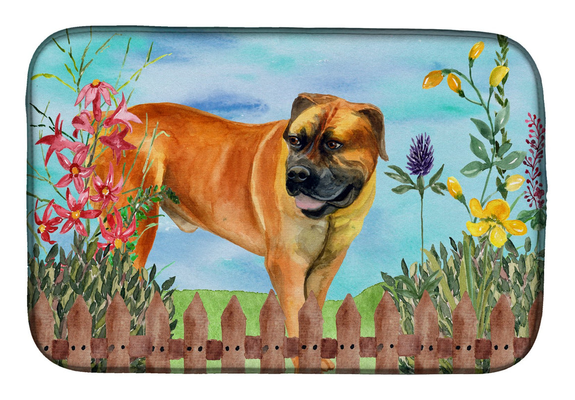 Buy this Boerboel Mastiff Spring Dish Drying Mat CK1208DDM