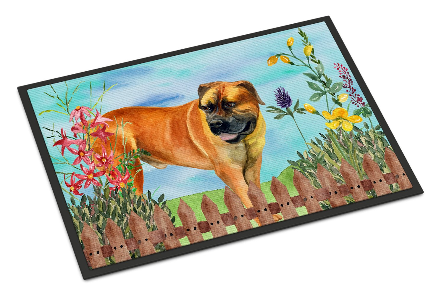 Boerboel Mastiff Spring Indoor or Outdoor Mat 24x36 CK1208JMAT by Caroline's Treasures
