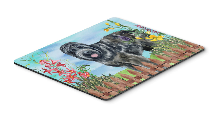 Buy this Black Russian Terrier Spring Mouse Pad, Hot Pad or Trivet CK1239MP
