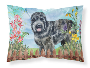 Buy this Black Russian Terrier Spring Fabric Standard Pillowcase CK1239PILLOWCASE