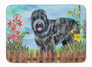 Buy this Black Russian Terrier Spring Machine Washable Memory Foam Mat CK1239RUG