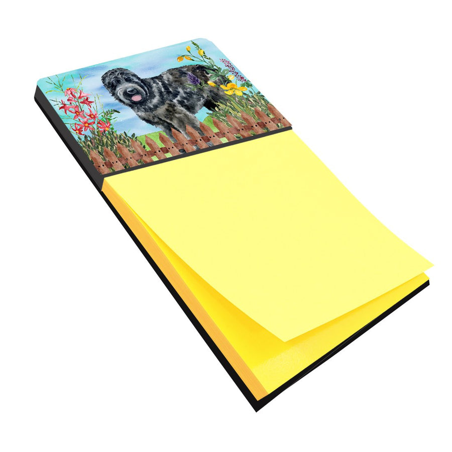 Buy this Black Russian Terrier Spring Sticky Note Holder CK1239SN