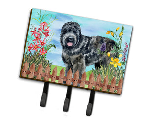 Buy this Black Russian Terrier Spring Leash or Key Holder CK1239TH68
