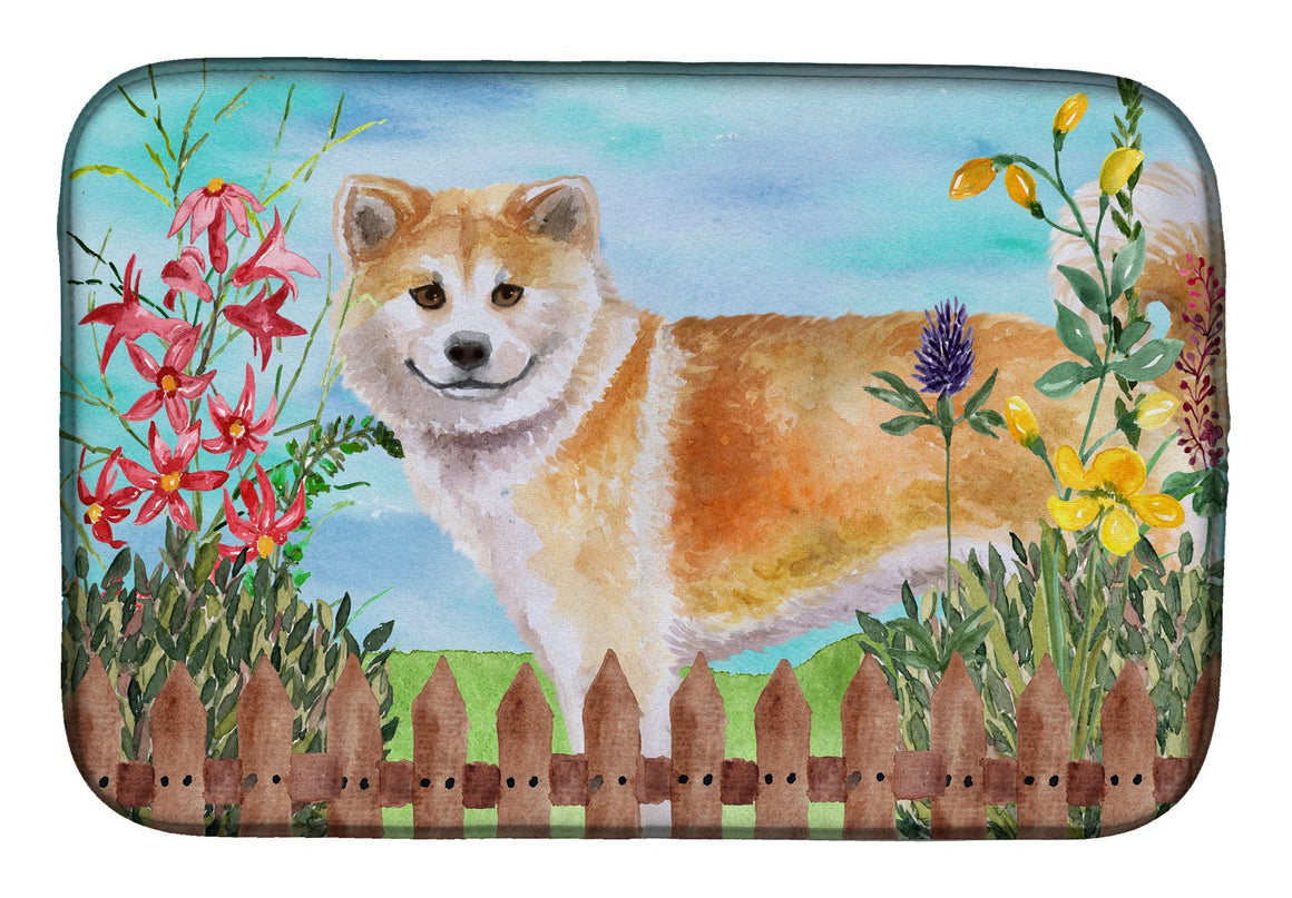 Buy this Shiba Inu Spring Dish Drying Mat CK1240DDM