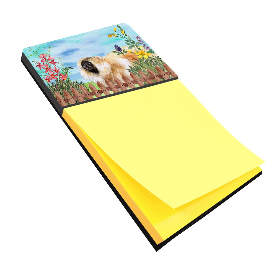Pekingese Spring Sticky Note Holder CK1243SN by Caroline's Treasures