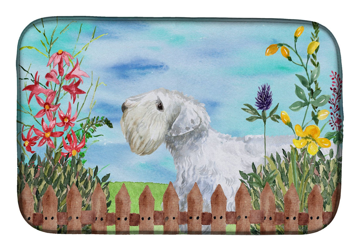 Buy this Sealyham Terrier Spring Dish Drying Mat CK1246DDM