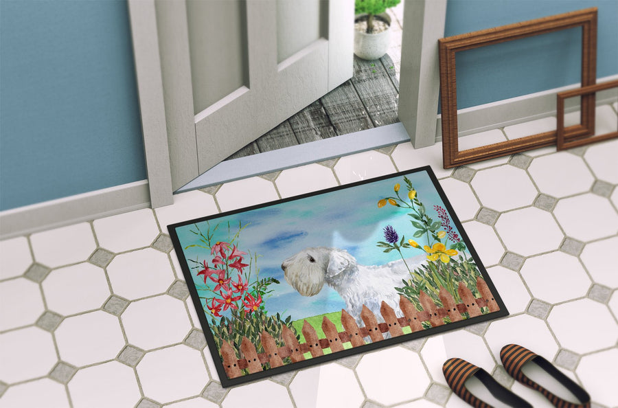 Buy this Sealyham Terrier Spring Indoor or Outdoor Mat 24x36 CK1246JMAT