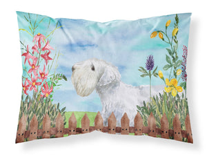 Buy this Sealyham Terrier Spring Fabric Standard Pillowcase CK1246PILLOWCASE