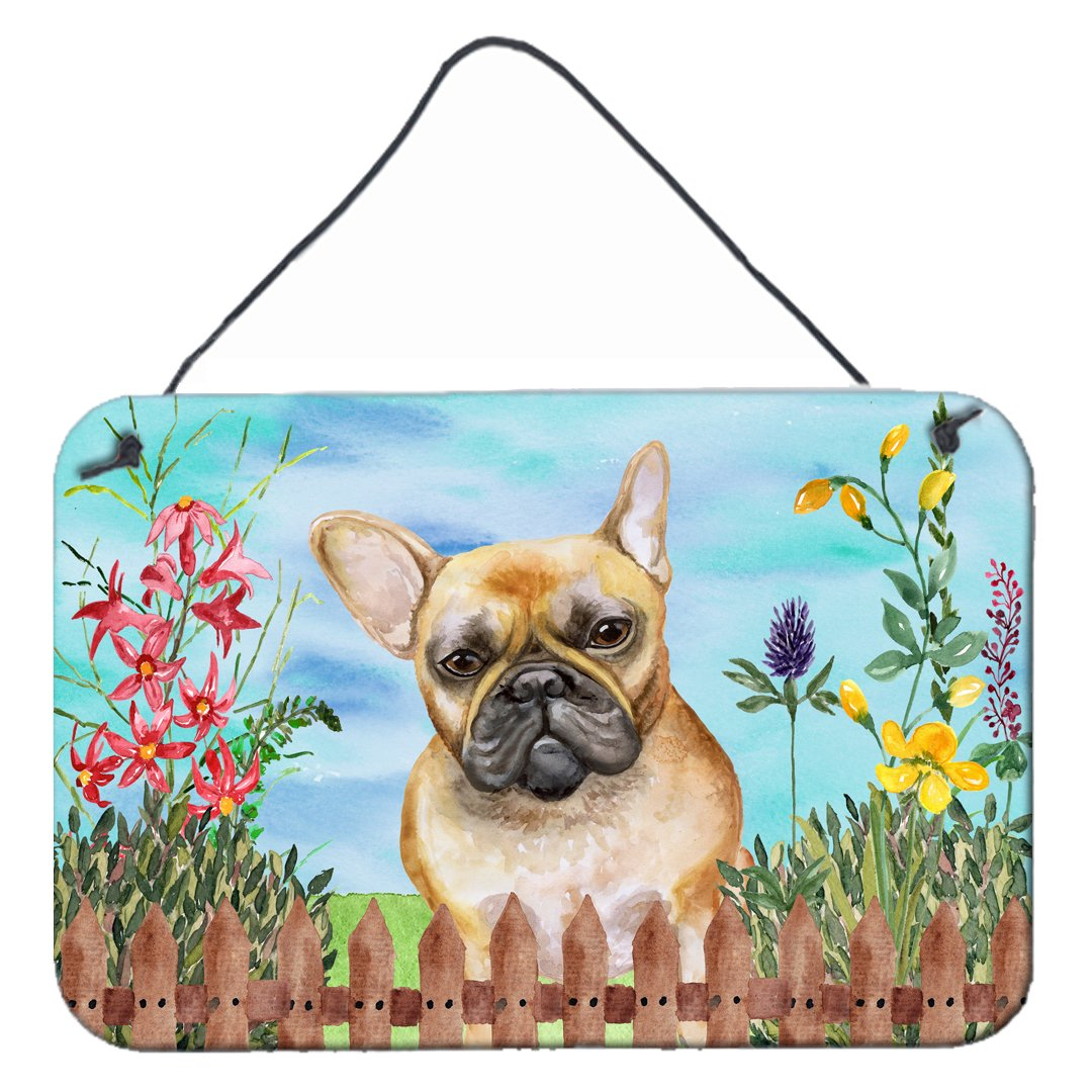 Buy this French Bulldog Spring Wall or Door Hanging Prints CK1250DS812