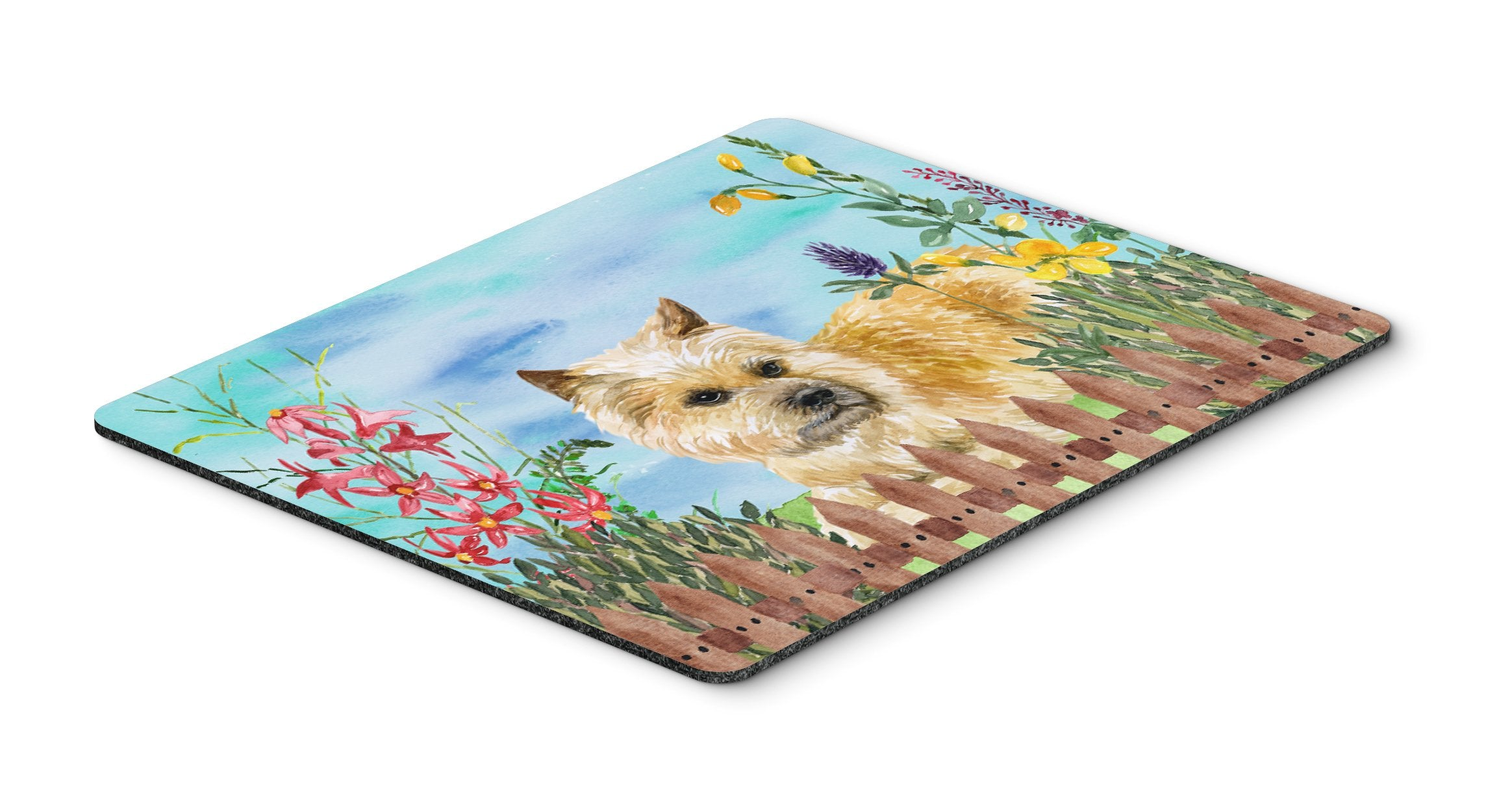 Cairn Terrier Spring Mouse Pad, Hot Pad or Trivet CK1252MP by Caroline's Treasures