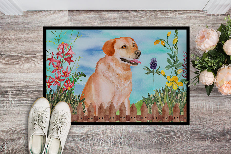 Buy this Labrador Retriever Spring Indoor or Outdoor Mat 18x27 CK1276MAT