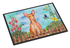 Buy this Pharaoh Hound Spring Indoor or Outdoor Mat 18x27 CK1277MAT