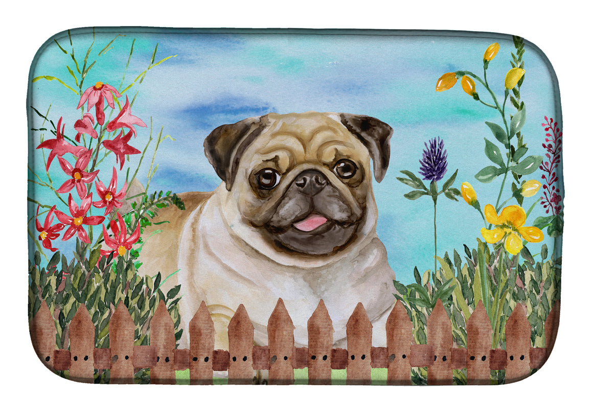 Buy this Fawn Pug Spring Dish Drying Mat CK1280DDM