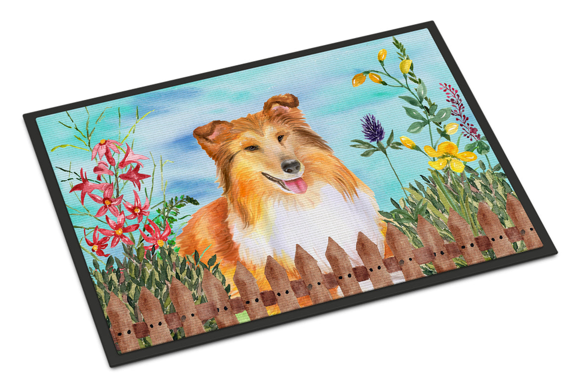 Buy this Sheltie Spring Indoor or Outdoor Mat 18x27 CK1282MAT