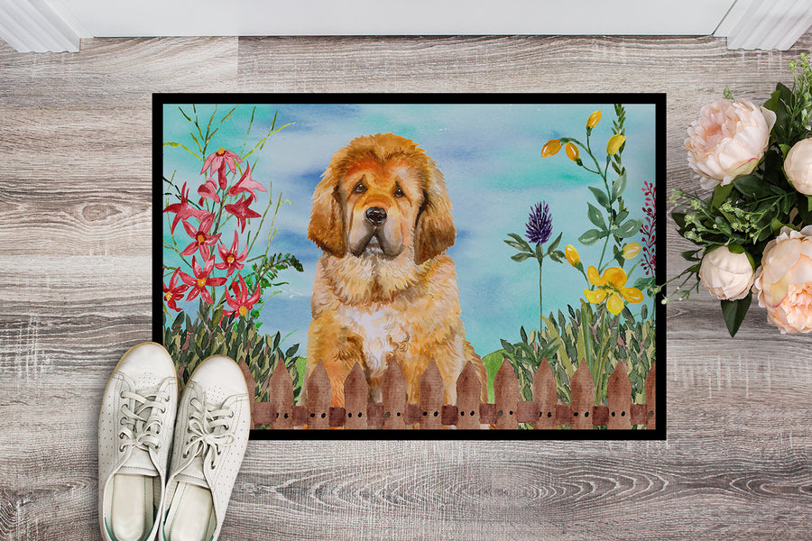 Buy this Tibetan Mastiff Spring Indoor or Outdoor Mat 18x27 CK1283MAT