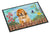 Tibetan Mastiff Spring Indoor or Outdoor Mat 18x27 CK1283MAT by Caroline's Treasures