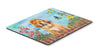 Buy this Tibetan Mastiff Spring Mouse Pad, Hot Pad or Trivet CK1283MP