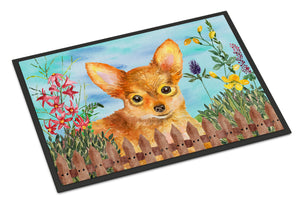 Buy this Toy Terrier Spring Indoor or Outdoor Mat 18x27 CK1284MAT