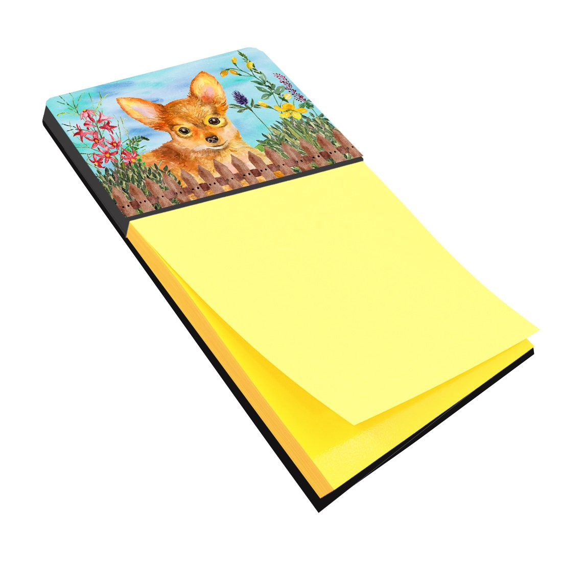 Toy Terrier Spring Sticky Note Holder CK1284SN by Caroline's Treasures
