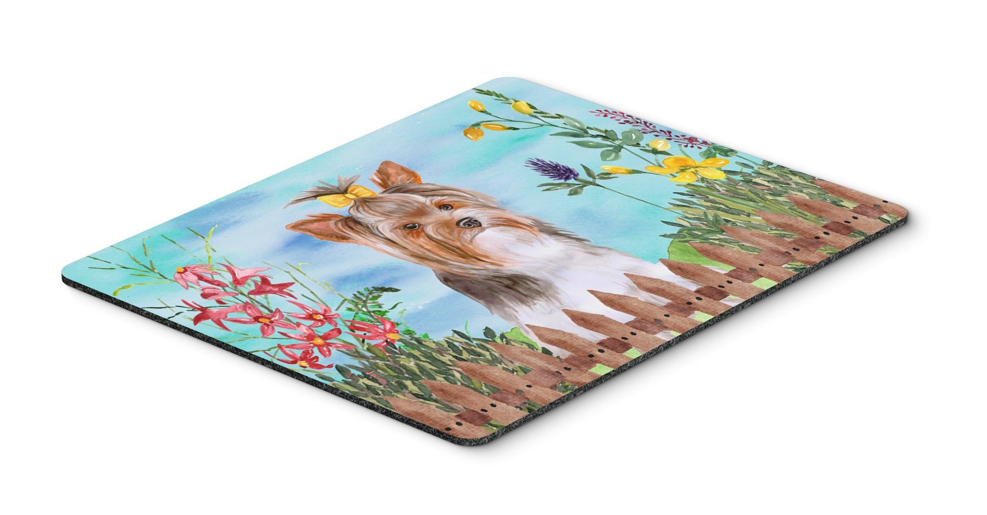 Buy this Yorkshire Terrier #2 Spring Mouse Pad, Hot Pad or Trivet CK1285MP