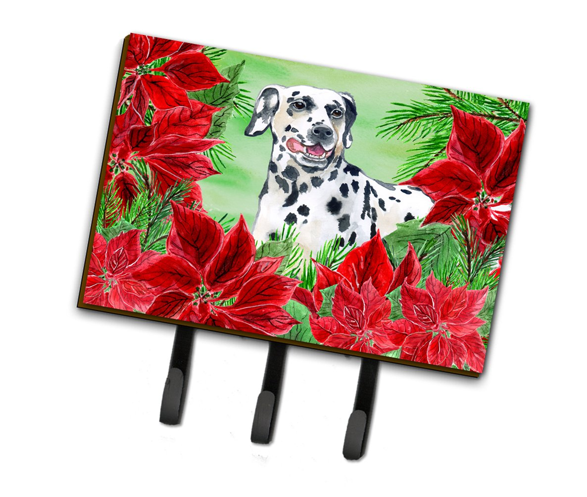 Dalmatian Poinsettas Leash or Key Holder CK1301TH68 by Caroline's Treasures