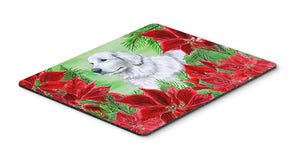 Buy this Maremma Sheepdog Poinsettas Mouse Pad, Hot Pad or Trivet CK1323MP