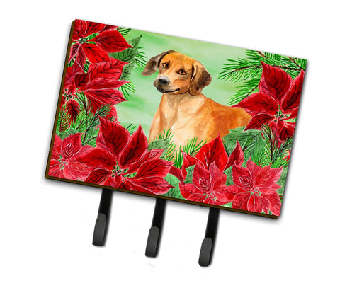 Buy this Rhodesian Ridgeback Poinsettas Leash or Key Holder CK1324TH68