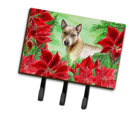 Buy this Thai Ridgeback Poinsettas Leash or Key Holder CK1328TH68