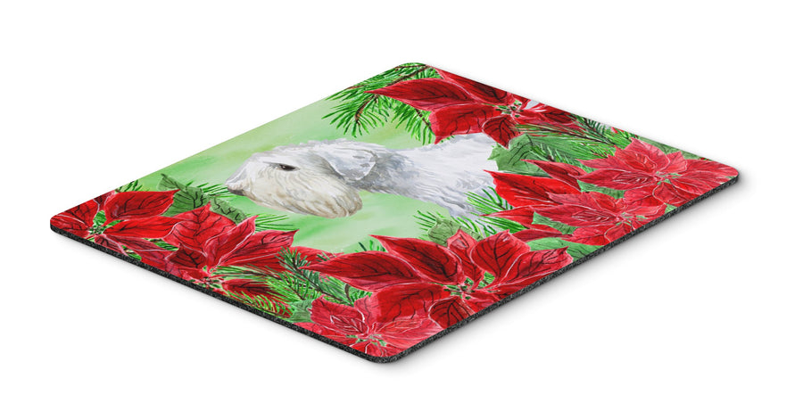 Buy this Sealyham Terrier Poinsettas Mouse Pad, Hot Pad or Trivet CK1332MP