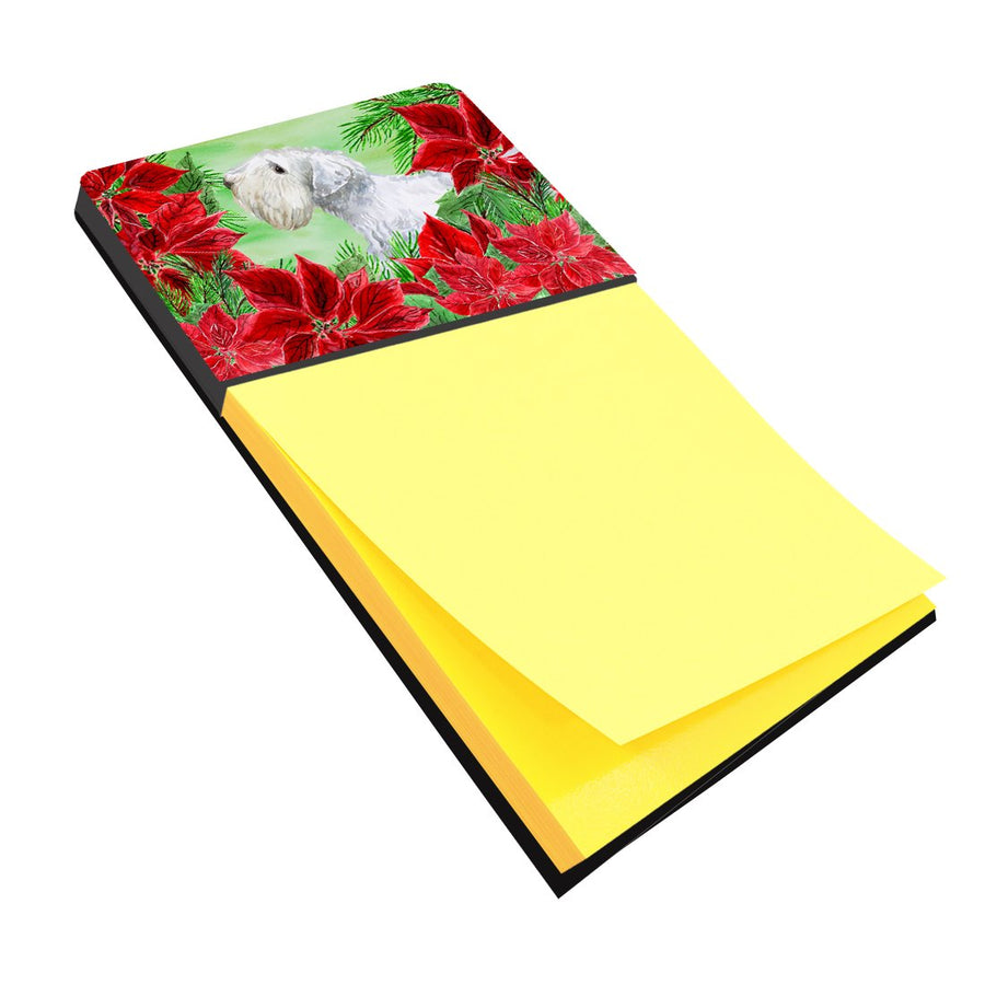 Buy this Sealyham Terrier Poinsettas Sticky Note Holder CK1332SN