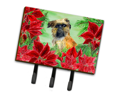 Buy this Brussels Griffon Poinsettas Leash or Key Holder CK1335TH68