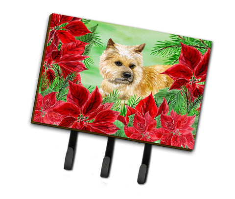 Buy this Cairn Terrier Poinsettas Leash or Key Holder CK1338TH68