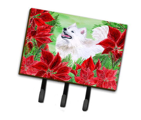 Buy this Samoyed Poinsettas Leash or Key Holder CK1339TH68