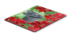 Buy this Cane Corso Poinsettas Mouse Pad, Hot Pad or Trivet CK1342MP