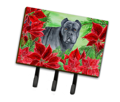 Buy this Cane Corso Poinsettas Leash or Key Holder CK1342TH68